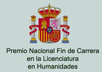 Premio Nacional Fin de Carrera en la Licenciatura en Humanidades - Ministerio de Educación del Gobierno de España