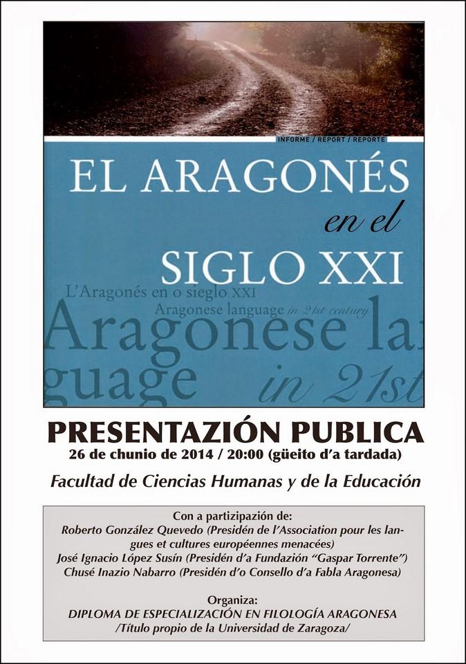 Presentazión Informe aragones siglo XXI