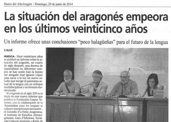noticia altoaragon informe aragones siglo XXI