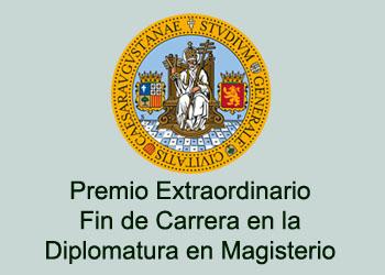 Premio extraordinario fin de carrera en la Diplomatura en Magisterio