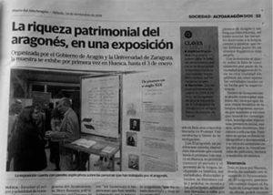 Huesca-exposición-aragonés-patrimonio-común