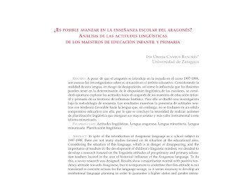 Actitudeslingüísticas-Lenguaaragonesa-Lenguaminoritaria-actitudesmaestros
